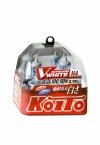 Лампа H4 12V 60/55W (100/90W) 3700K Koito Whitebeam, комплект 2 шт.