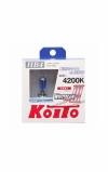 Лампа HB4 12V 55W (110W) 4200K Koito Whitebeam, к-т 2 шт.